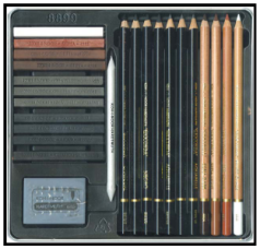 koh-i-noor drawing set
