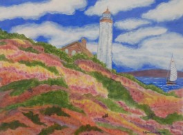Lighthouse mural
