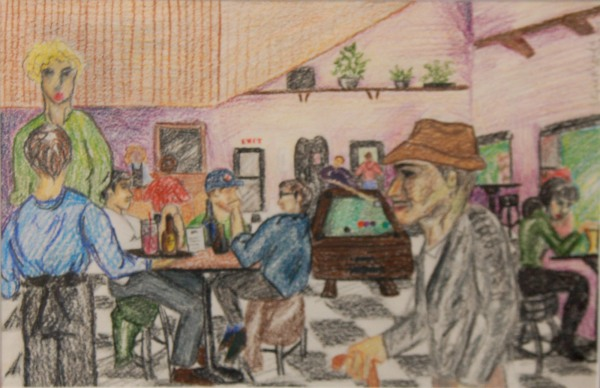Pauley's Pub Mural
