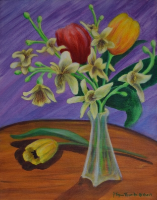 Tulips & Orchids